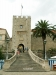 Kamenná věž hradeb města