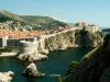 Monumentální kamenné hradby města