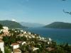 Pohled na záliv Boka Kotorská v Černé Hoře