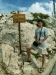Přímo na vrcholu - 1762 metrů nad mořem