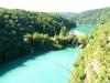 Kaskádovitá jezera na řece Plitvice