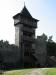 Vyhlídková vež na hradě Helfštýn