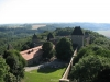 Pohled na Helfštýn z věže