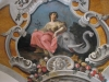 Nádherná restaurovaná stropní malba