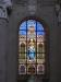 Okenní vytráže místní kaple