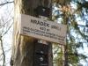 Turistická značka - Hrádek