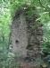 Kamenná zeď hradu