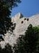 Zbytky hradního opevnění