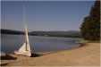 Břeh Lipenského jezera