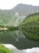 Zrcadlení vrcholků v jezeře