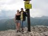 Konečně na vrcholu Sivého vrchu (1805 m. nad m.)