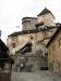 Nádvoří Oravského hradu