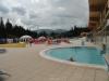 Venkovní bazén s termální vodou